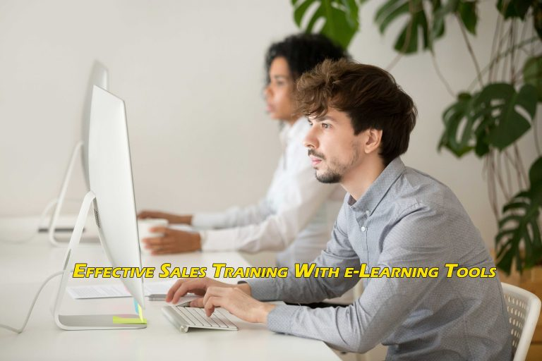 Effective Sales Training With e-Learning Tools