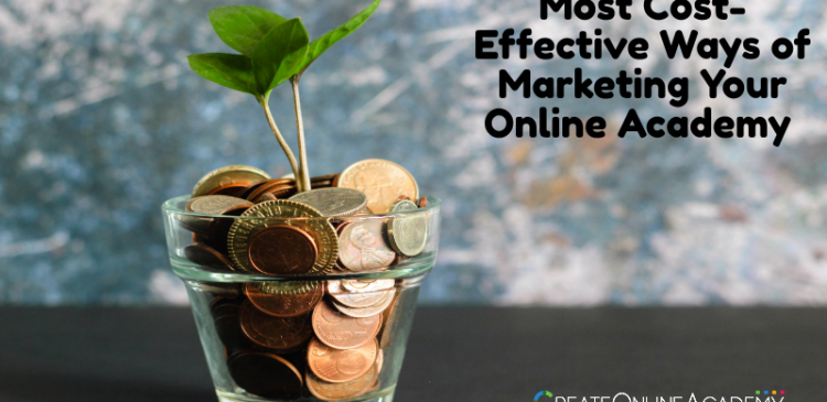 Cost-Effective Ways of Marketing Your Online Academy