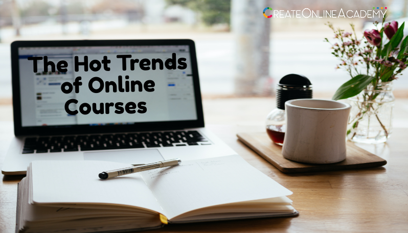 2021 - 5 Top Trending Online Course Topic Ideas