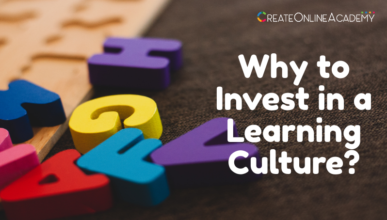 Why to Invest in a Learning Culture